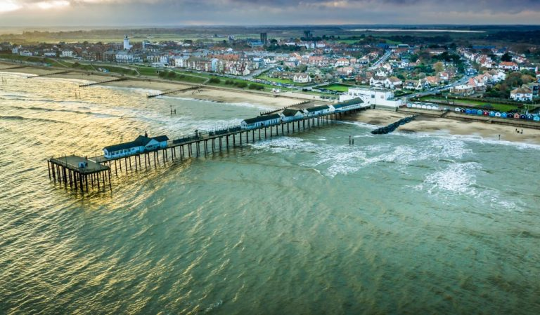 Southwold and The Popular Pier, Suffolk