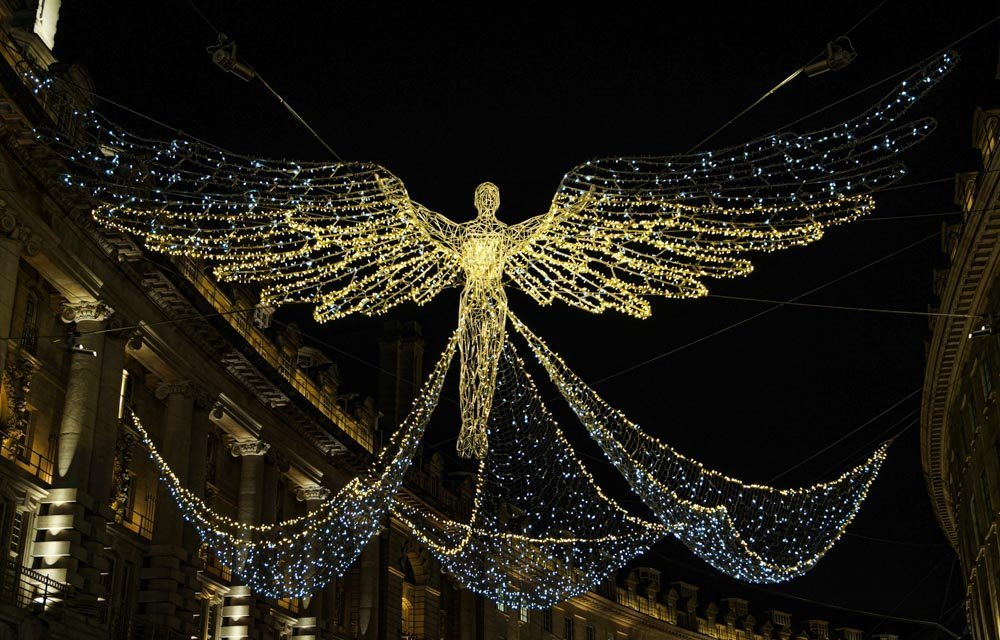 stunning angel lights