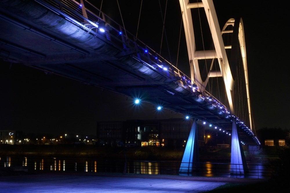 2020_0101_09091300-01 An Evening Visit to Infinity Bridge, Stockton on Tees