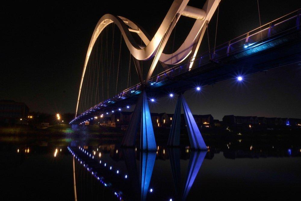 Visit to Infinity Bridge, Stockton on Tees