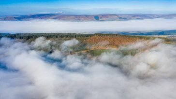 longridge fell cloud inversion