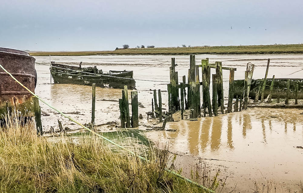 Up the Creek in Oare, A Walk Near Faversham in Kent