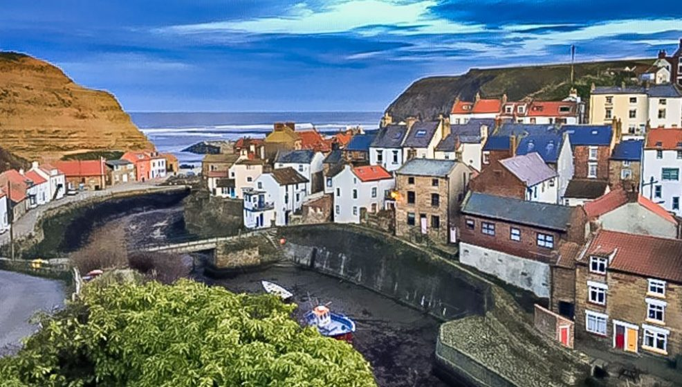staithes an artists village in yorkshire