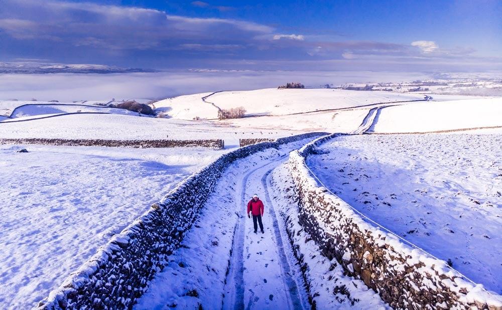 Benefits of Walking In The Winter