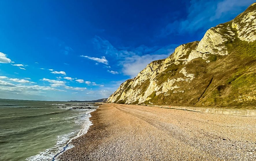 Samphire Hoe - Through The White Cliffs of Dover