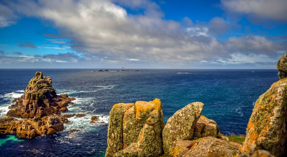 Looking-out-to-the-Longships-Lighthouse Land's End, A Rugged Cornwall Wander