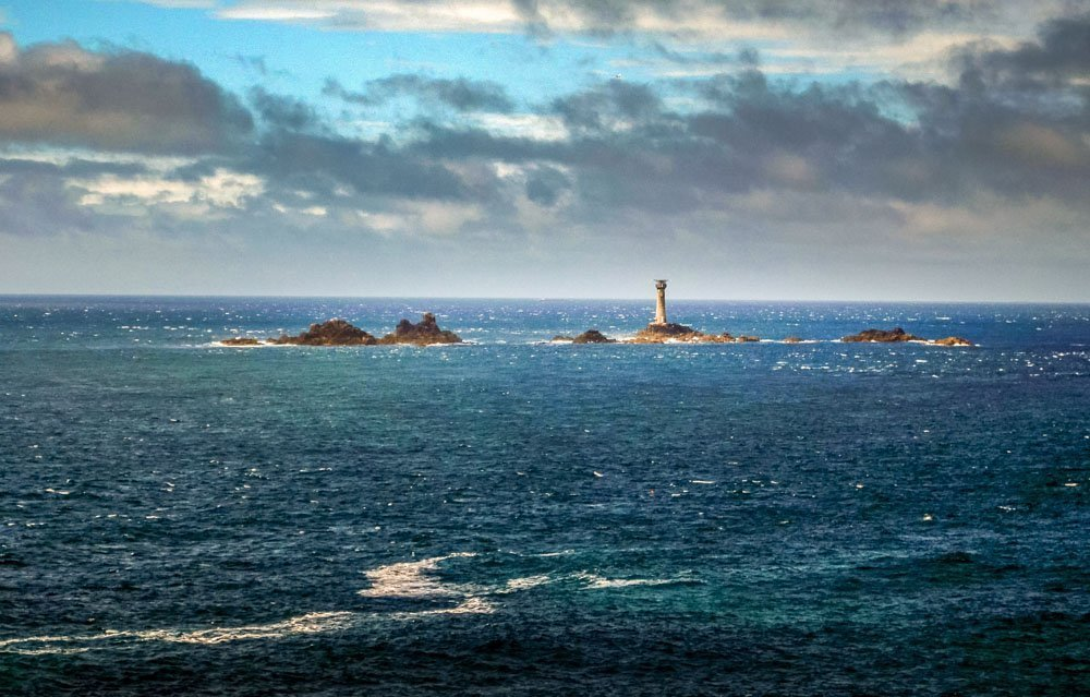 The-Longships-Lighthouse Land's End, A Rugged Cornwall Wander