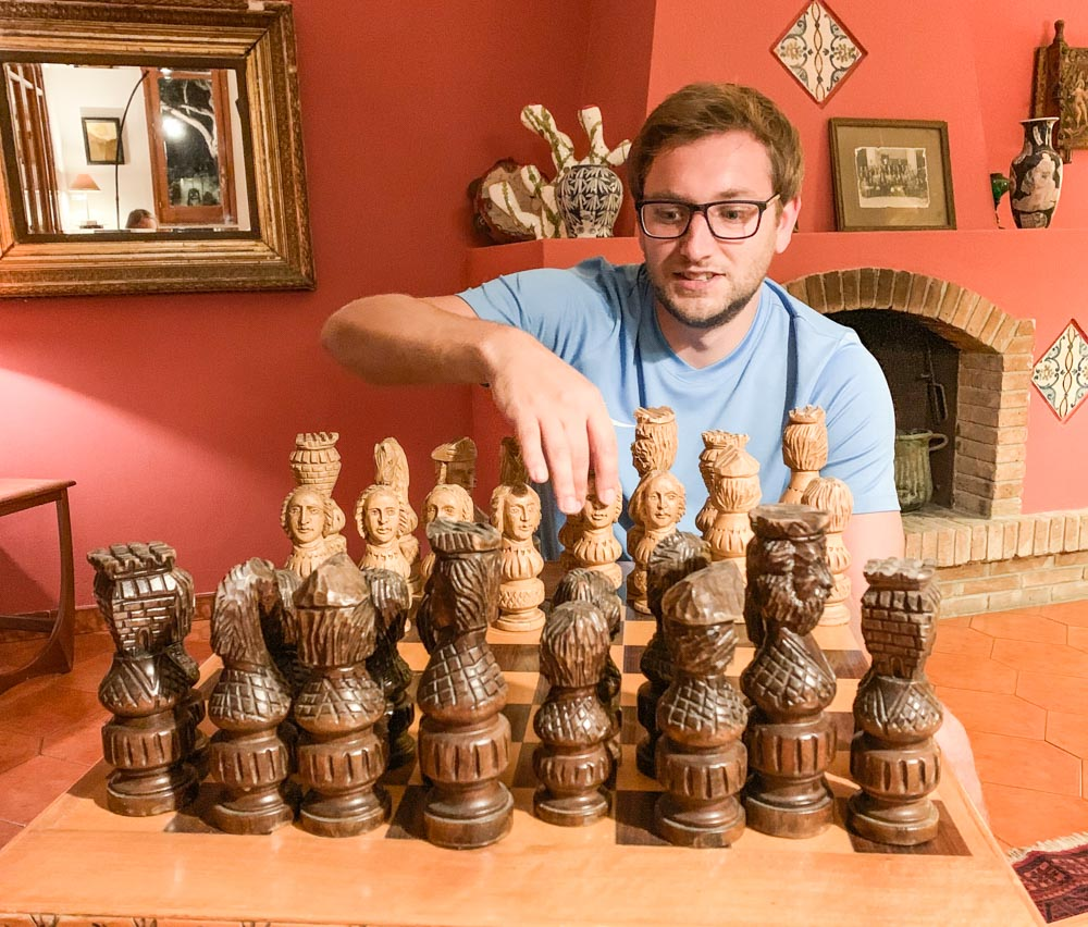 big chess board