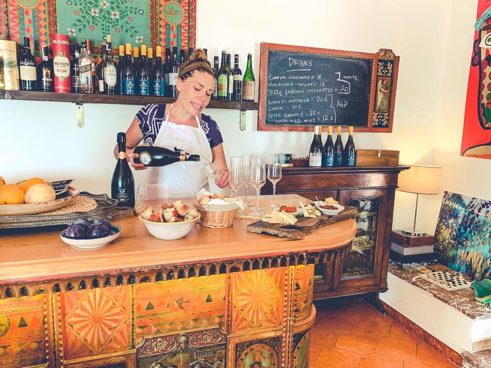 Villa Britannia bar and wine