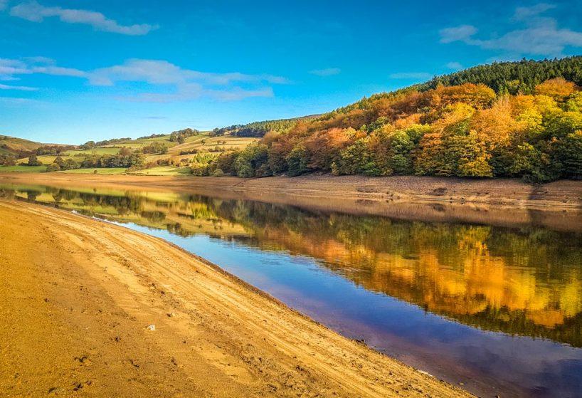 Reflections of Ladybower, Autumn