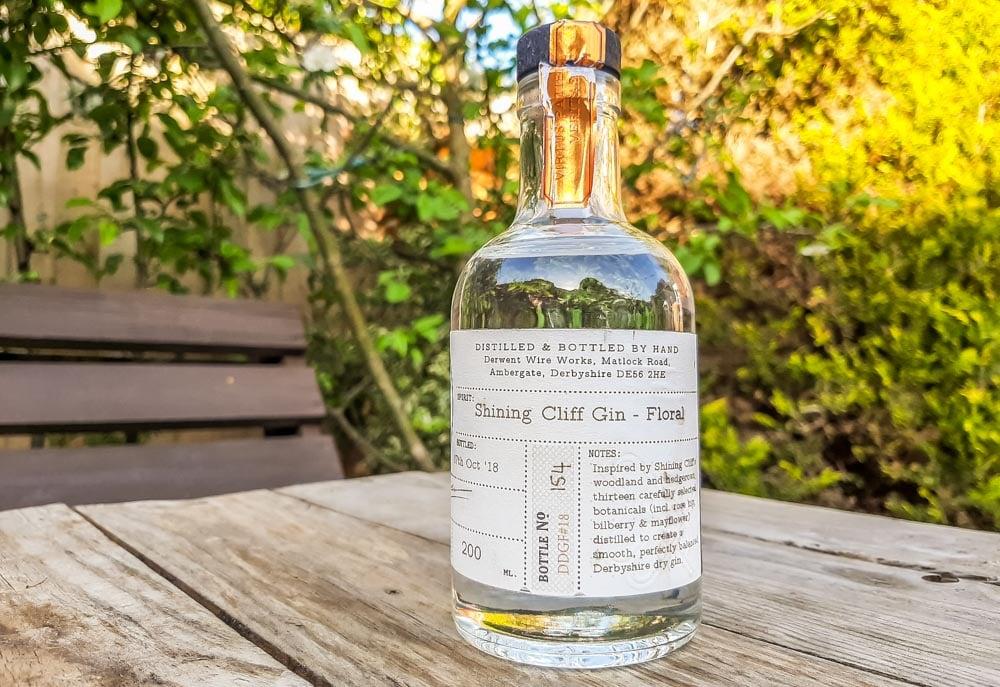 Shining Cliff Gin From White Peak Distillery