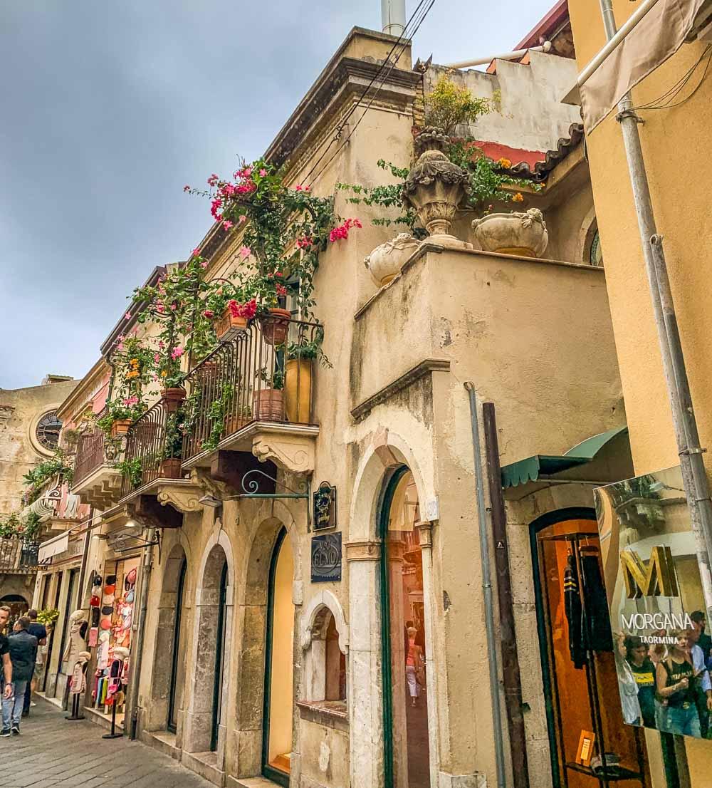 Villa Britannia, Taormina in Sicily