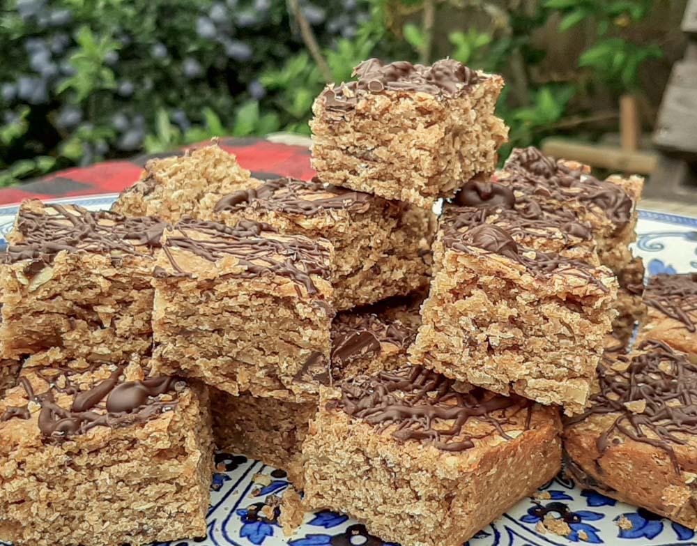 Chunky Vegan Oat Bites – A Healthy Bake