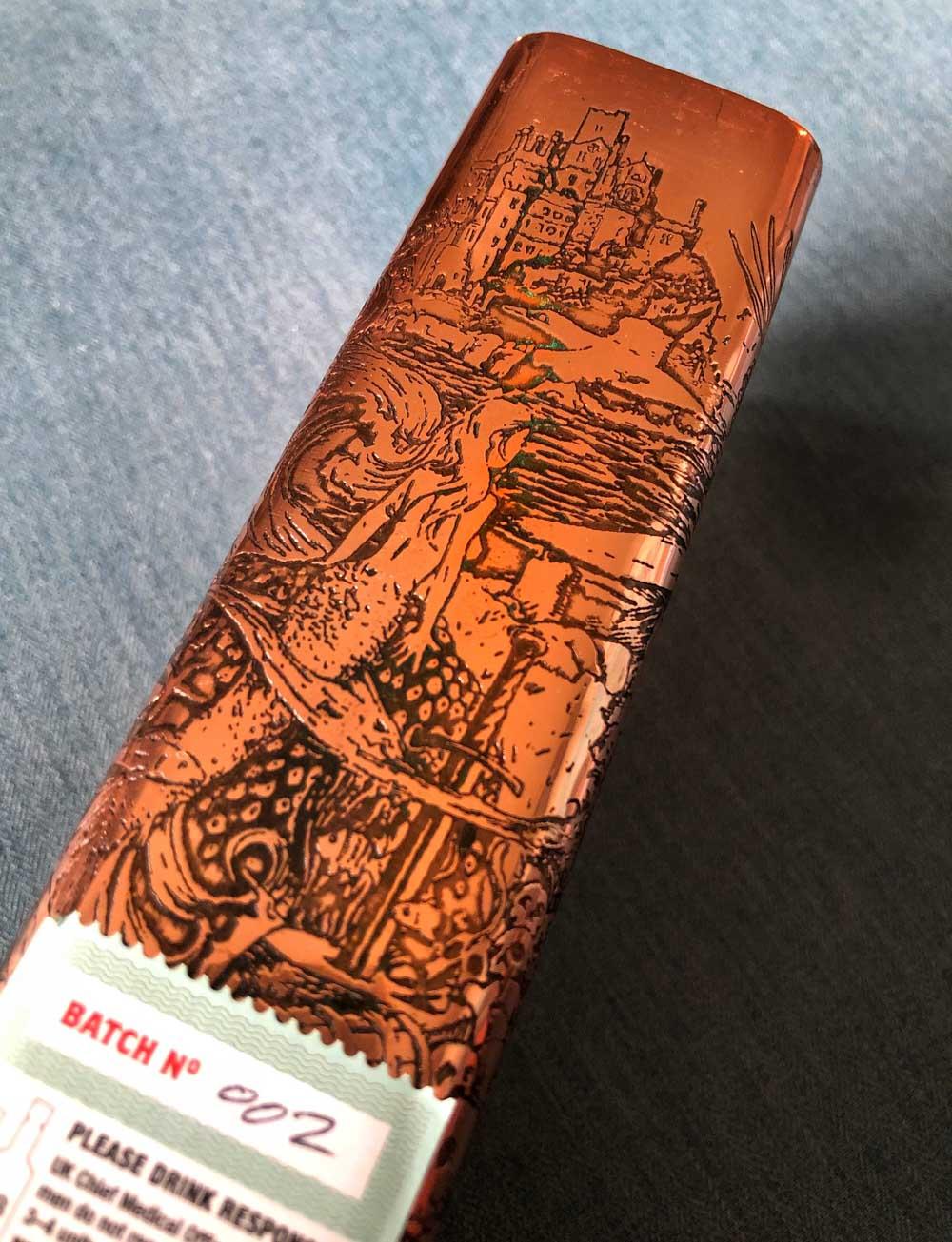 engraved casing