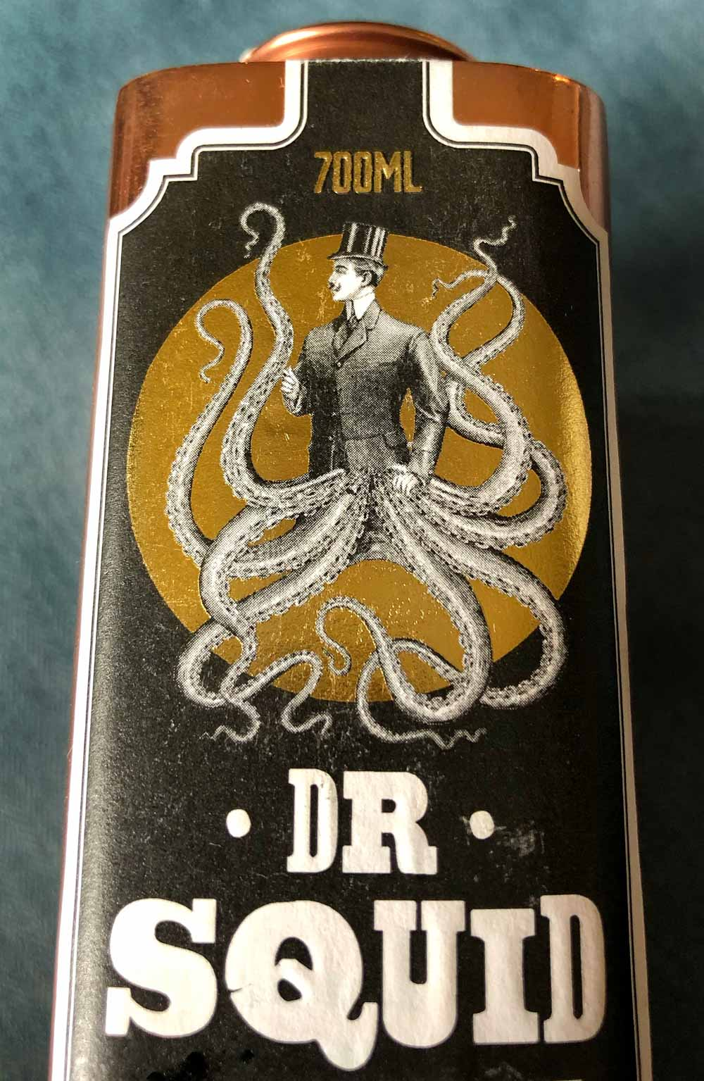Dr Squid Gin from Pocketful of Stones Distillers, Cornwall