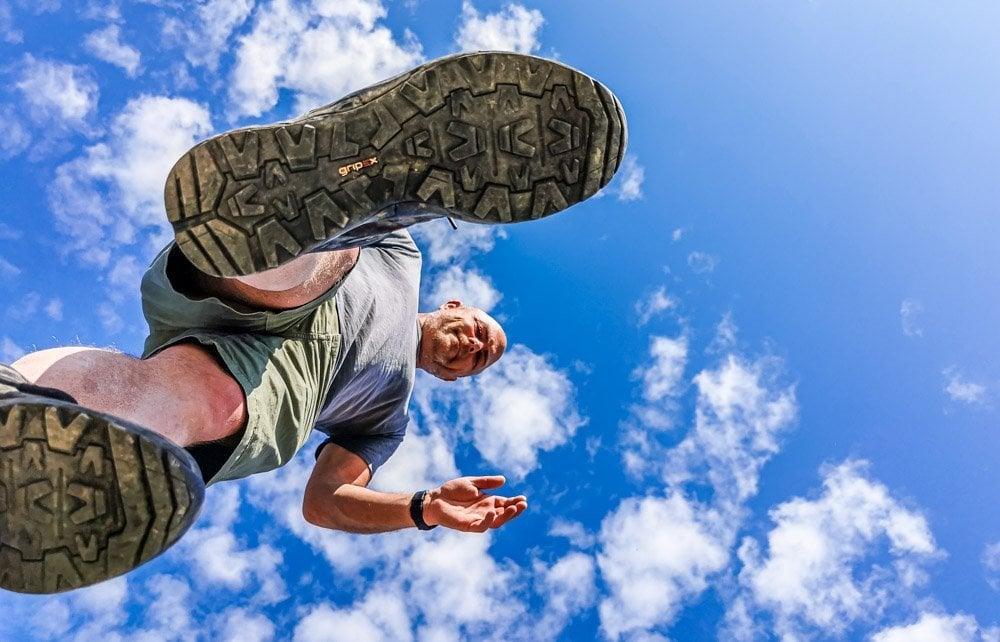 photo hack walk on air