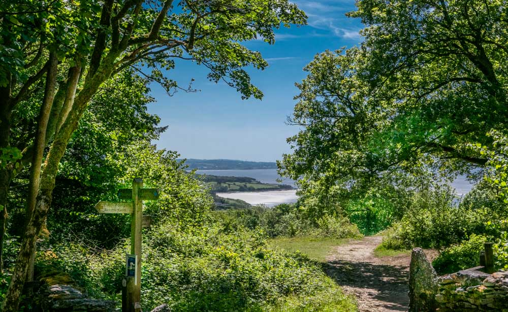 Arnside Knott, A Circular Walk Around and Up