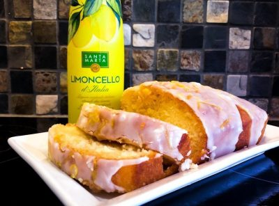 The Ultimate Boozy Lemon Drizzle Loaf
