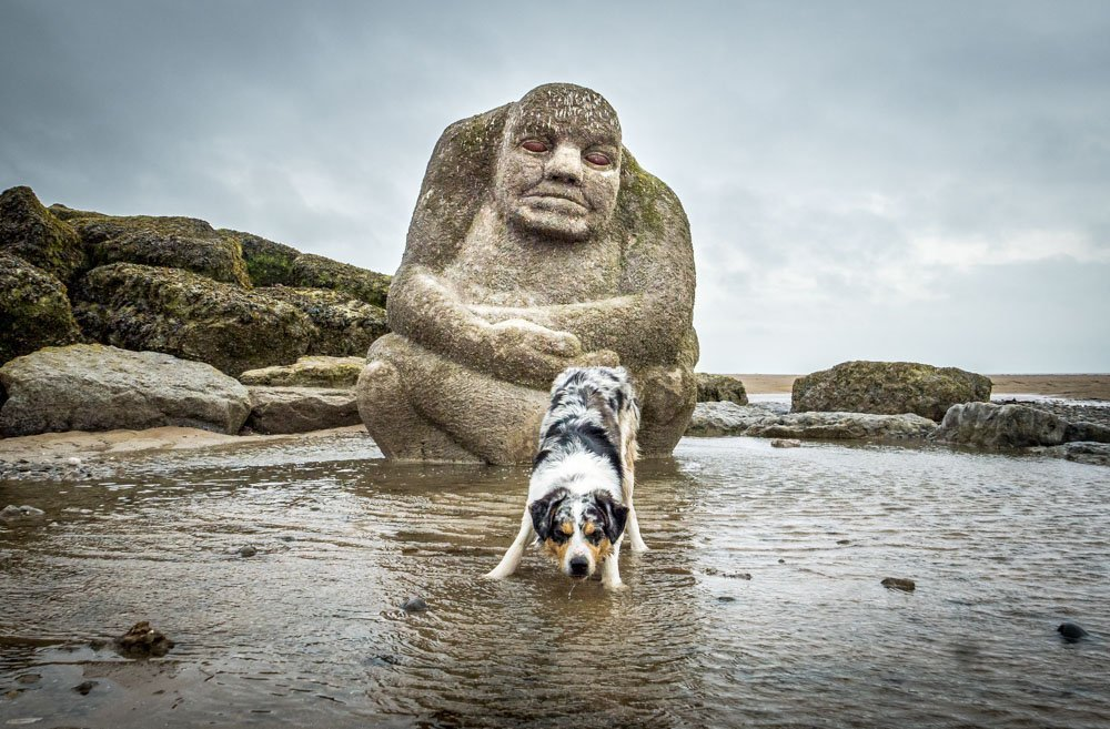 The Mythic Coast Art of Cleveleys Beach, Lancashire