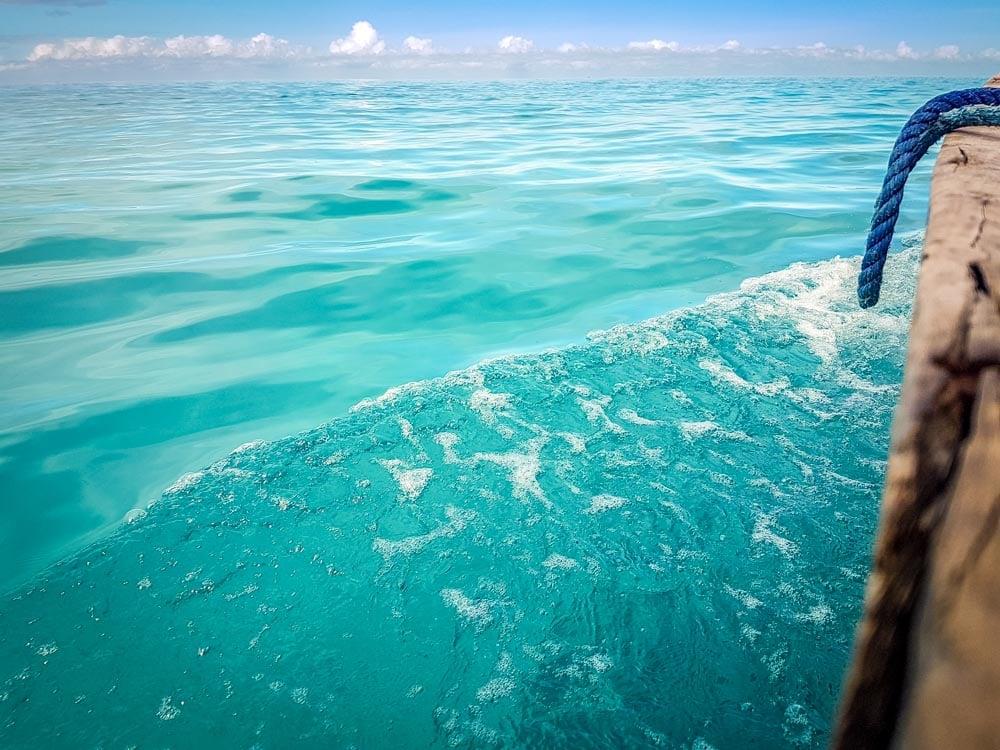 Mafia Island - about 160kms South of Zanzibar