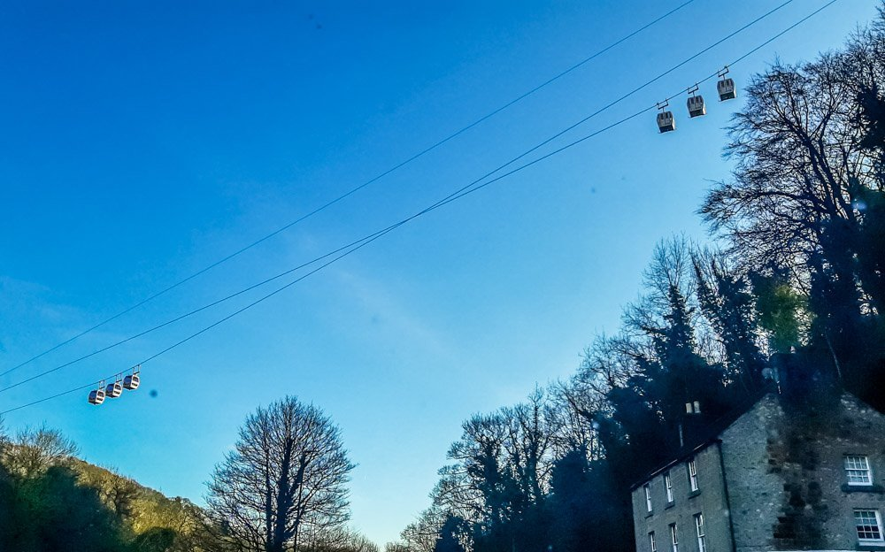 Heights-of-Abraham-Cable-cars-Matlock Matlock Bath Walks and Day Trips - Derbyshire
