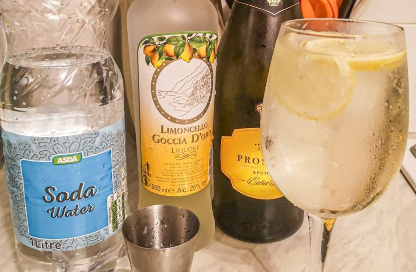 Limoncello Spritz - An Italian cocktail