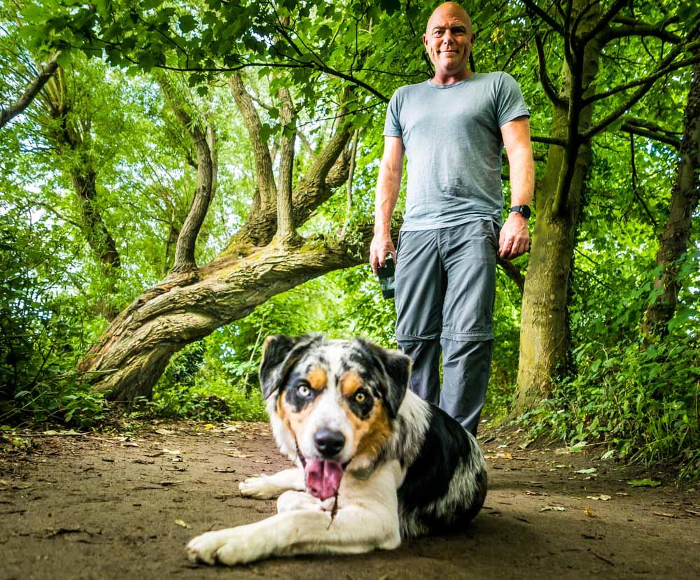 L1005413 A Dog Walk Through Witch Wood, Lytham