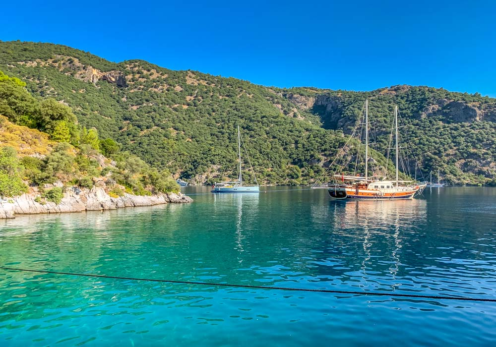 blue-water-bay Sail Away On The Aegean Sea With Your Own Private Gulet
