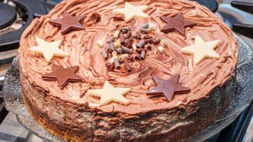Easy and Quick Chocolate Cheesecake recipe