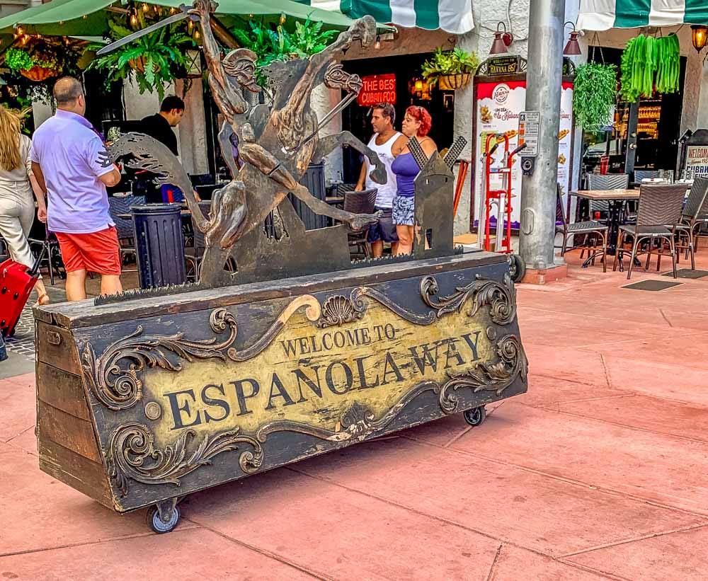 Espanola way Miami