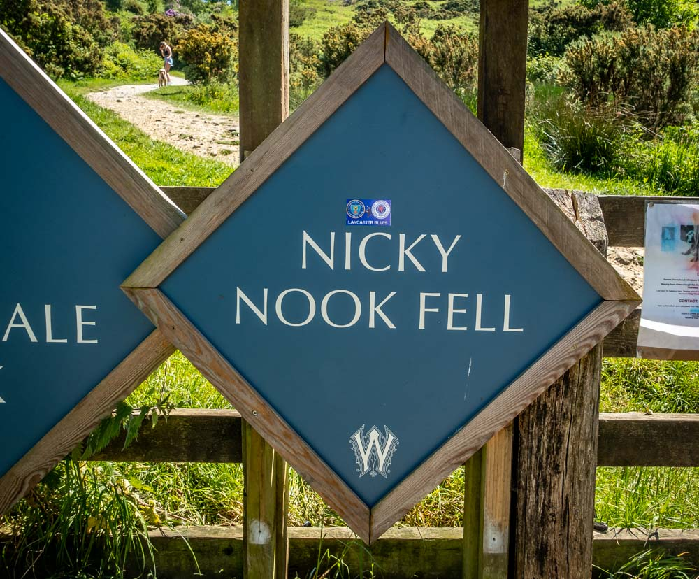 A Walk Up And Around Nicky Nook, Lancashire