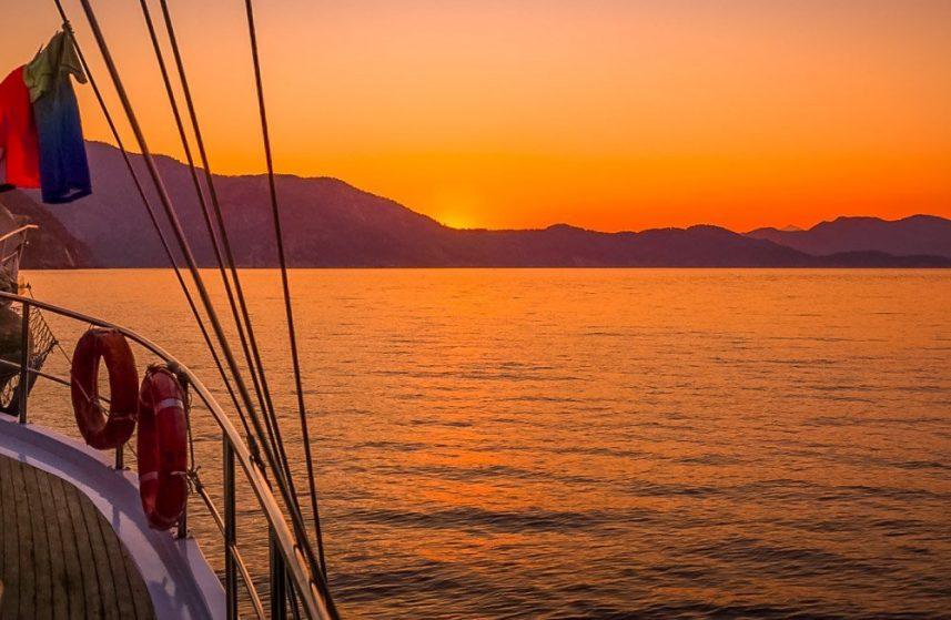 Sail Away On The Aegean Sea With Your Own Private Gulet