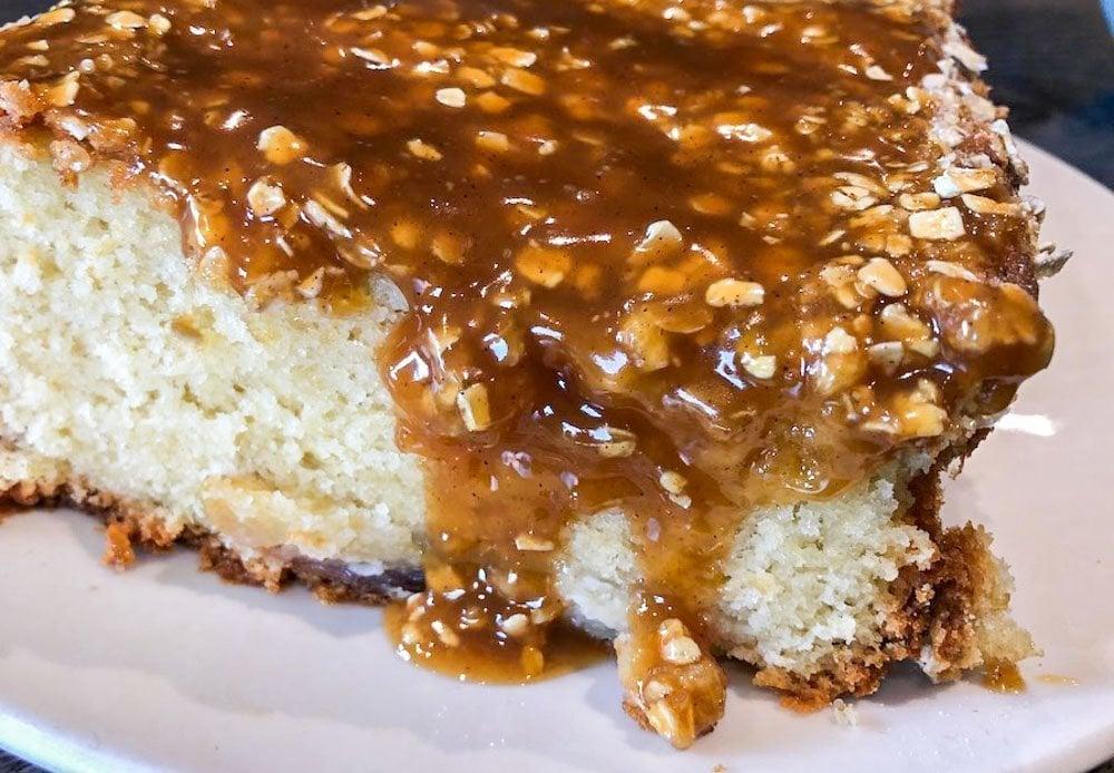 Toffee Apple Oat Crunch Loaf Recipe