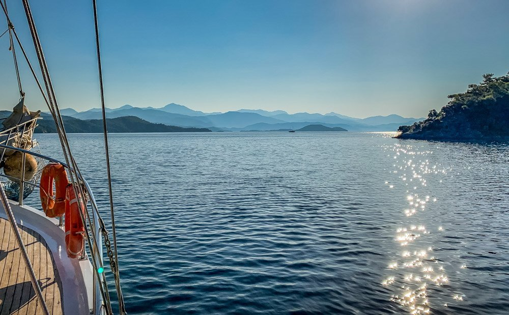 yurkey-sea Sail Away On The Aegean Sea With Your Own Private Gulet