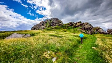 Almscliffe Crag, Wharfedale, Yorkshire