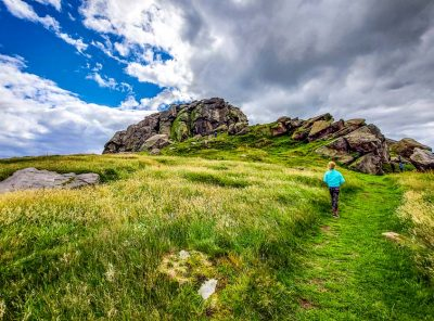 Almscliffe Crag - Exploring Above Lower Wharfe Valley