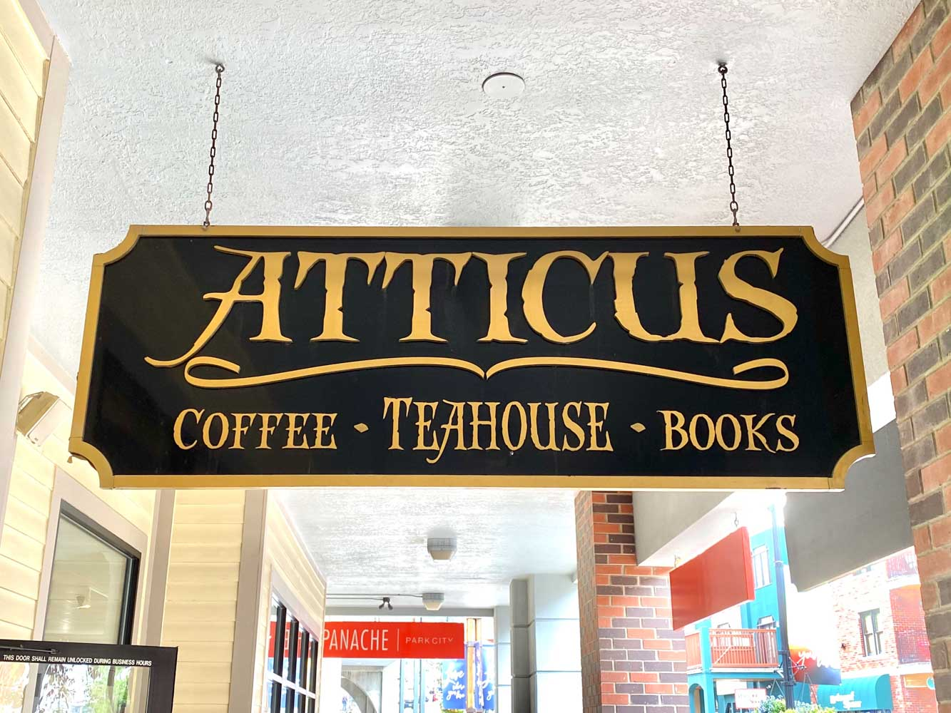 stop at Atticus Coffee