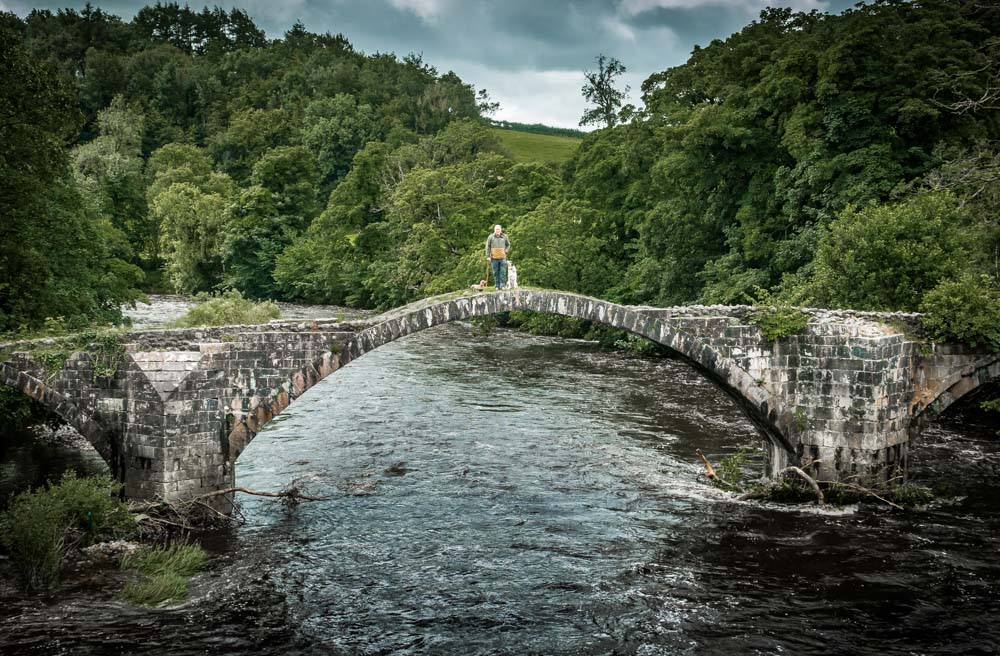 Cromwell's Bridge, History Over The River Hodder, Lancashire