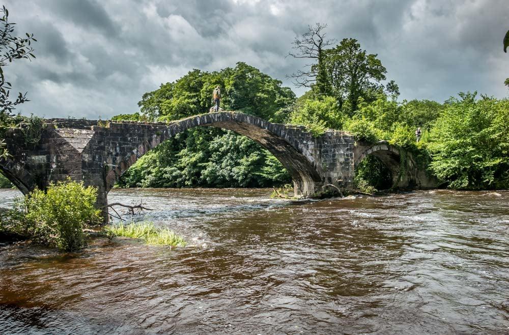 cromwell's bridge from the riverside