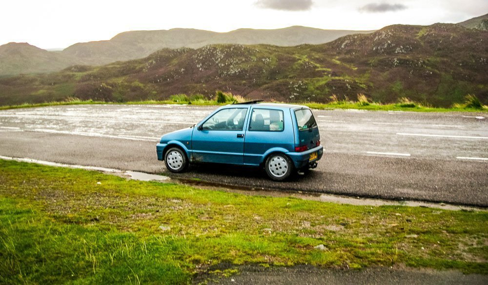 A82 Driving the Highlands in a Fiat