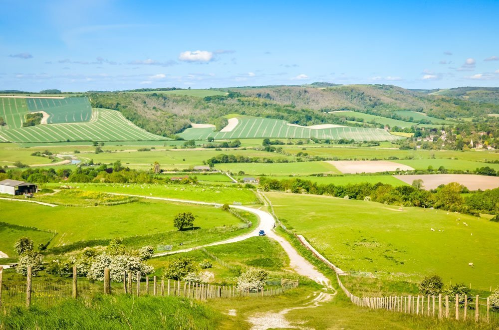 Amberley Mount and Rackham Bank Walk In The South Downs