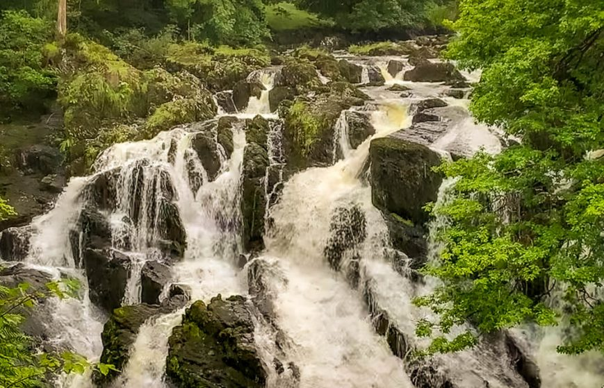 A Walk Of Waterfalls: Betws-y-Coed to Swallow Falls, Conwy