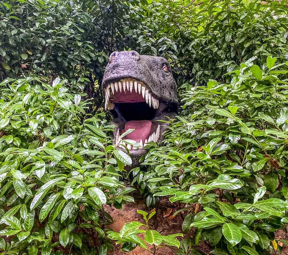 hiding-in-trees Roarr! Dinosaur Adventure - A Family Day Out