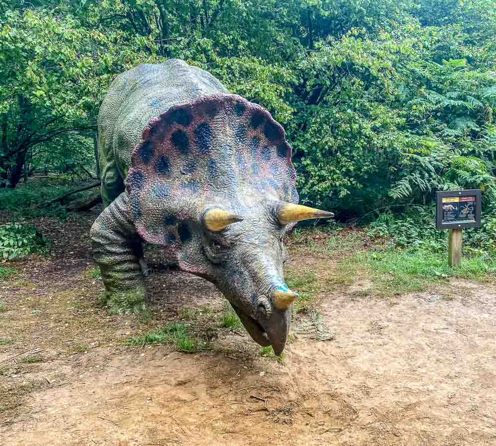 stegasaurus Roarr! Dinosaur Adventure - A Family Day Out