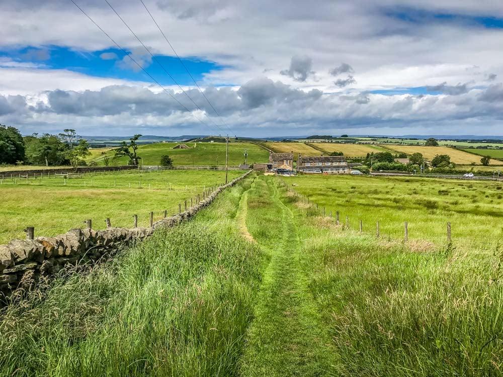 Thurstonland path