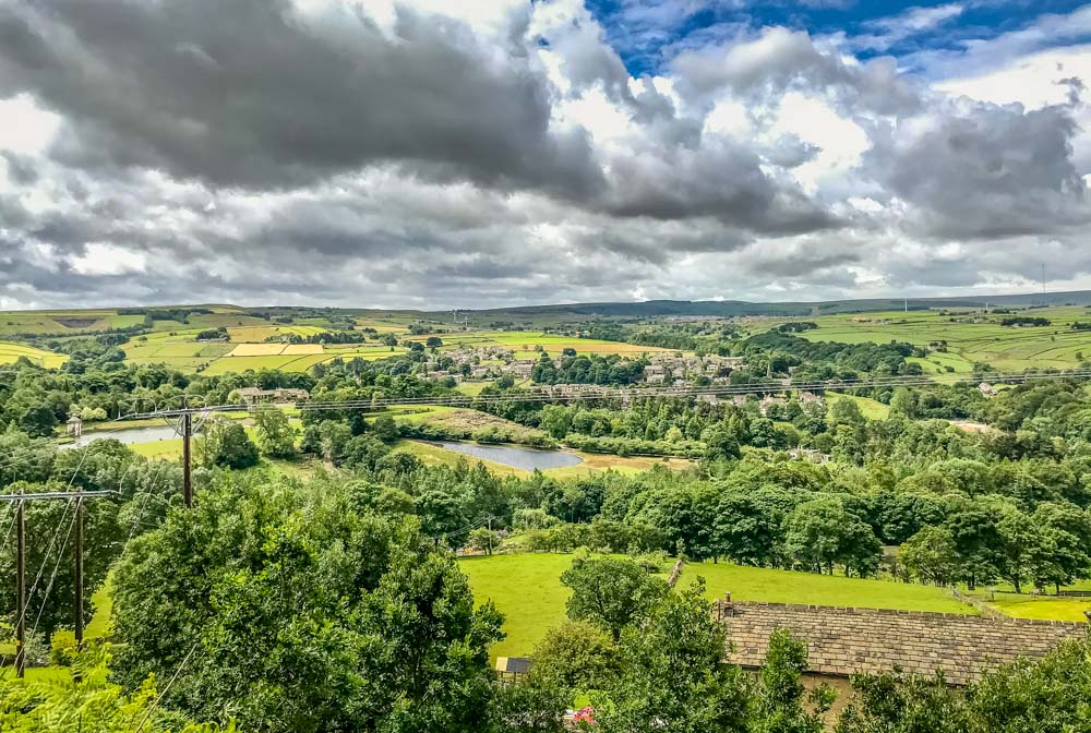 7.-meal-hill-from-the-bench_ The Holme Valley Circular Walk - West Yorkshire