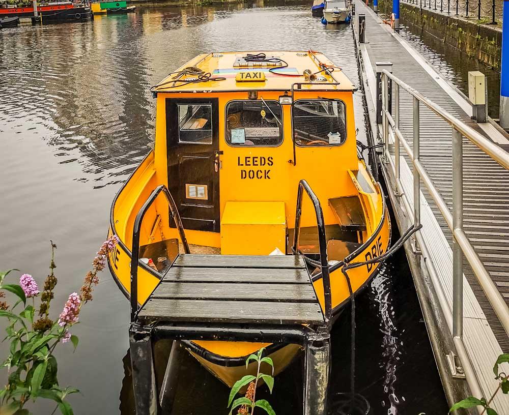 leeds canal dock taxi