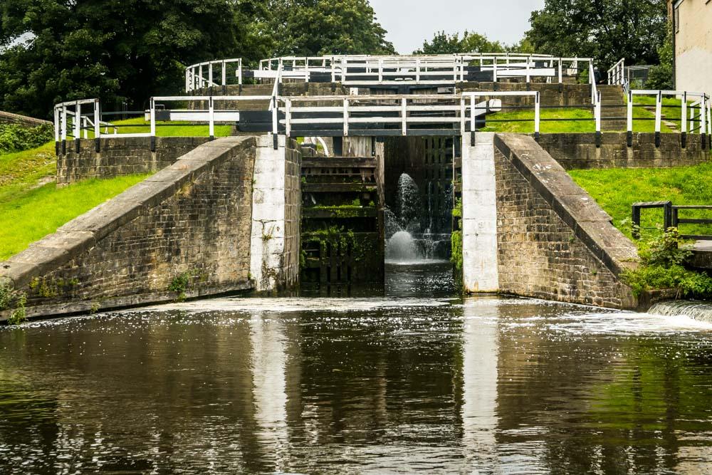 Bingley three rise locks