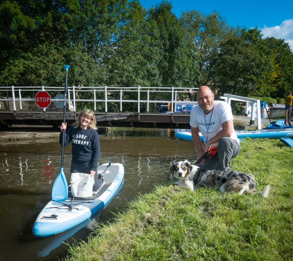 Wellness and Paddleboarding On The Leeds & Liverpool Canal