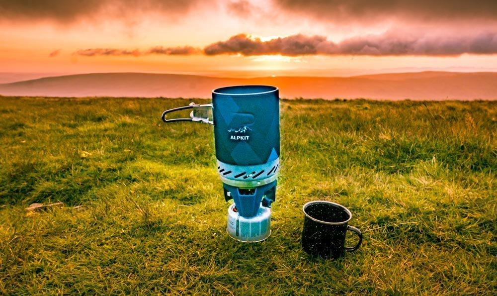 Alpkit Brukit - Camping Stove For Mini Adventures